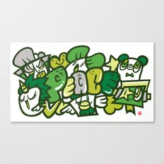 平和 - PEACE Canvas Print