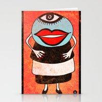 Miss One Eye Stationery Cards
