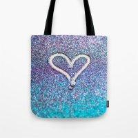 Glitter Heart- Photograp… Tote Bag