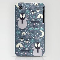 iPhone Cases featuring Penguin Small by Carly Watts