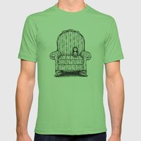 Big Chair Mens Fitted Tee Grass SMALL