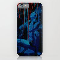 iPhone & iPod Case featuring Blue Water by -Orlando Sanchez Art-