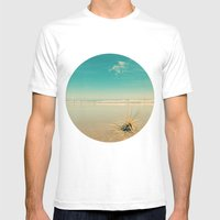 Beach Star Mens Fitted Tee White SMALL