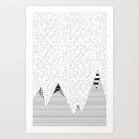 Mountain HD Art Print
