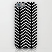 iPhone & iPod Case featuring Graphic_Black&White #3 by Anna Rosa
