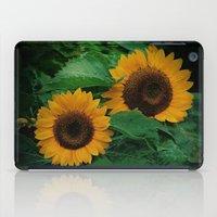 Sonnen Blumen  iPad Case