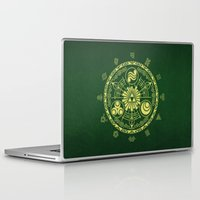 zelda Laptop & iPad Skins featuring Zelda Triforce  by DavinciArt