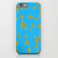 Giraffe Abstract iPhone 6 Slim Case