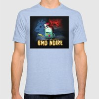 Adventure Time: BMO Noire Mens Fitted Tee Tri-Blue SMALL