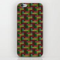 Woven Pixels III iPhone & iPod Skin