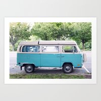 vw Art Prints featuring VW by myhideaway