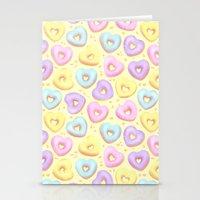 I Heart Donuts Stationery Cards