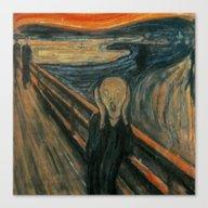 The Scream Canvas Print