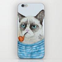 Sailor Cat I iPhone & iPod Skin