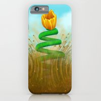iPhone & iPod Case featuring Sprung - Painting by Nicole Cleary