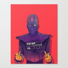 Foot Clan Canvas Print