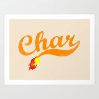 Char Art Print