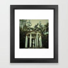 Montjuïc - Barcelona Framed Art Print