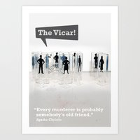 The Vicar Art Print
