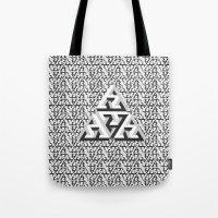 Escher Pattern Tote Bag