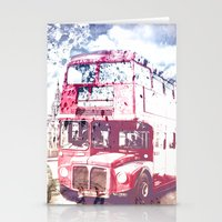 City-Art LONDON Red Buse… Stationery Cards