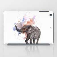 Dancing Elephant Paintin… iPad Case