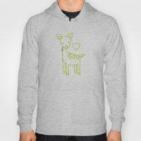 Green Deer Hoody