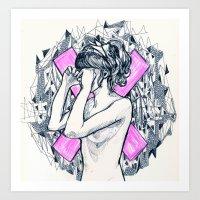 Ex Girl To Next Girl Art Print