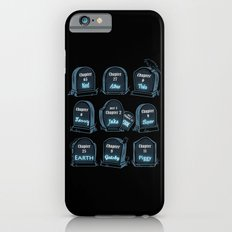 Spoiler Graveyard Slim Case iPhone 6s