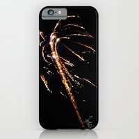 iPhone & iPod Case featuring Jets of Fireworks by Vincentograph