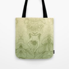 The Giant Winged Lion Tote Bag