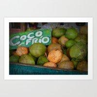 CocoFrio Art Print