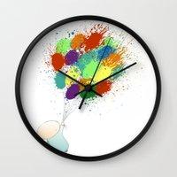 Burst! Wall Clock