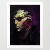 Mass Effect: Thane Krios Art Print