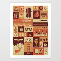 Accio Items Art Print