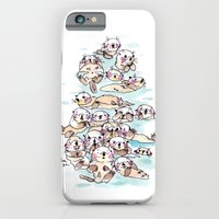Wild family series - Otters iPhone 6 Slim Case
