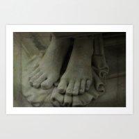 StoneFeet2 Art Print