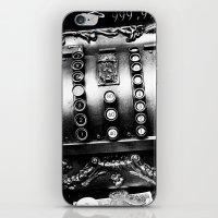 Old Cash Box iPhone & iPod Skin
