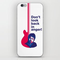 Noel Gallagher - Don't Look Back In Anger 02 iPhone & iPod Skin