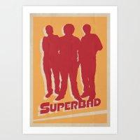 Superbad Movie Poster Art Print