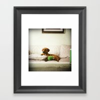 Toffee Framed Art Print