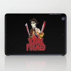 Slasher Mash (NSFW) iPad Case