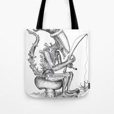 Alien gnome Tote Bag