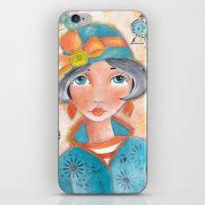 Sweet Girl iPhone & iPod Skin
