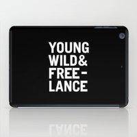 YOUNG WILD & FREELANCE iPad Case
