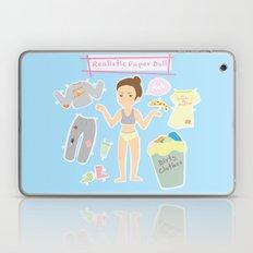 Realistic Paper Doll Laptop & iPad Skin