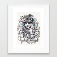 hyuna Framed Art Print