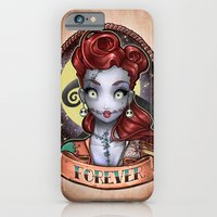 iPhone & iPod Case featuring FOREVER pinup by Tim Shumate