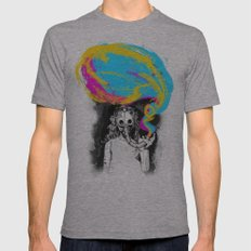 DeathBreath Mens Fitted Tee Athletic Grey SMALL