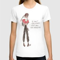 Man Repeller Womens Fitted Tee White SMALL